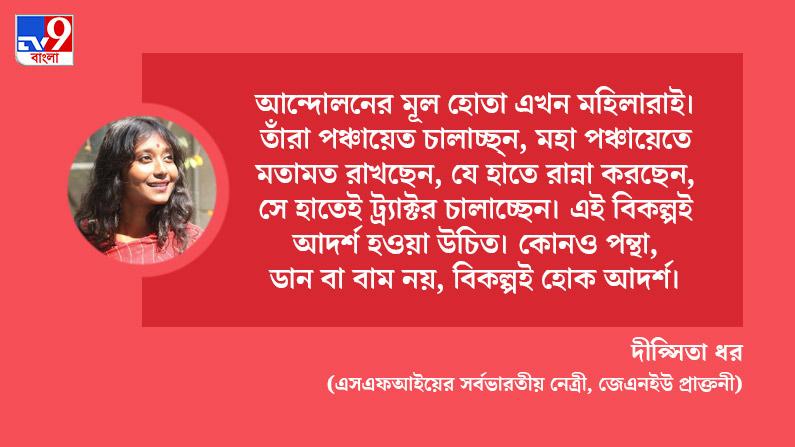 SFI Leader Dipshita Dhar spekas on international women's day