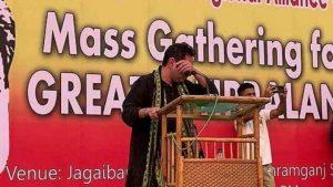 Tripura Royal Scion Pradyot Kishore Deb Barman breaks down in tear