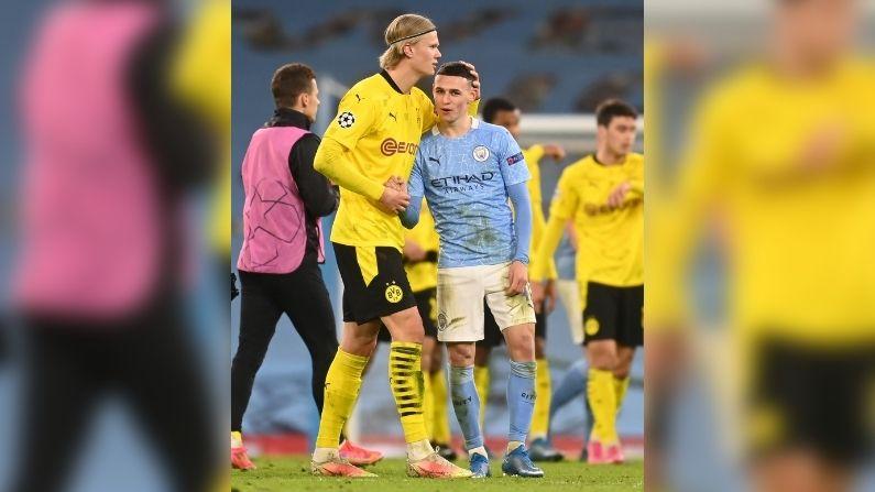 UEFA Champions League Manchester City vs Borussia Dortmund