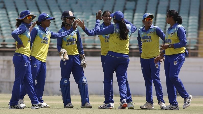 Mithali Raj's Railways became National Women's One Day Champions by beat Jharkhand 7 wickets