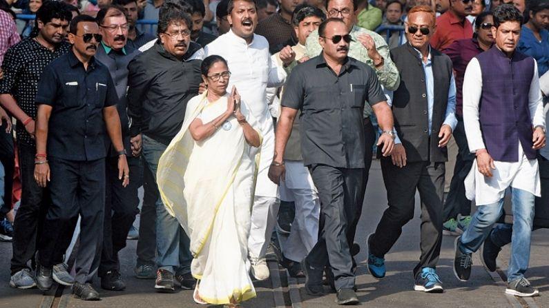 Mamata Banerjee Security