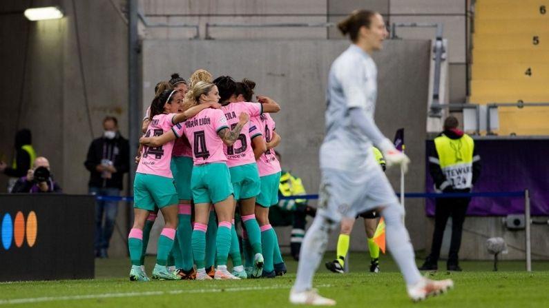 Barcelona win UEFA Women's Champions League by beat Chelsea