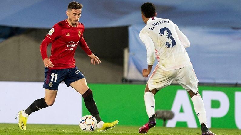 La Liga Real Madrid vs Osasuna