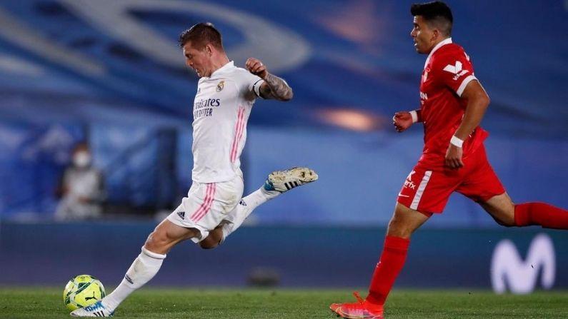 La Liga Real Madrid vs Sevilla match draw