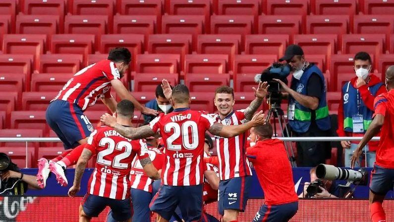 La liga Atletico Madrid vs Osasuna