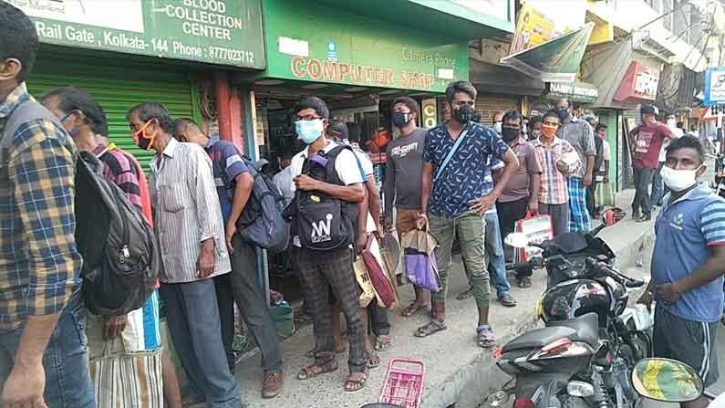 West Bengal Lockdown West Bengal Corona Update COVID Liquor Shop