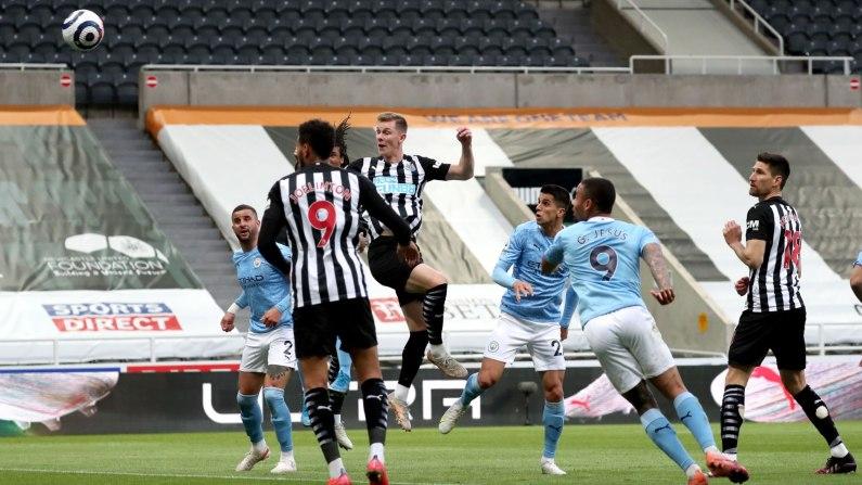 Manchester City beat Newcastle 4-3 in Premier League