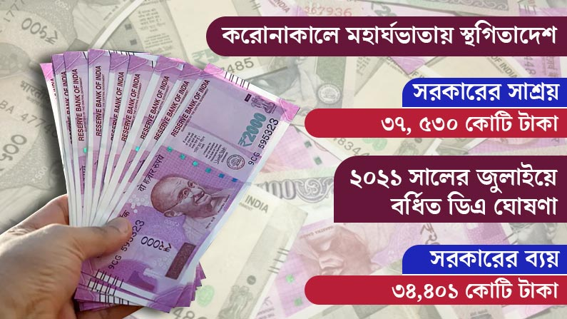 How much Govt Benefitted in Covid period